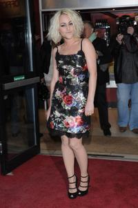 Jaime Winstone at the gala screening of