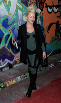 Jaime Winstone at the UK premiere of