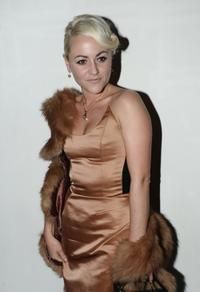 Jaime Winstone at the London Fashion Week Autumn/Winter 2010.