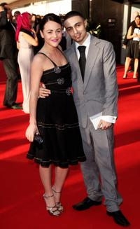 Jaime Winstone and Adam Deacon at the BAFTA Television Awards 2009.