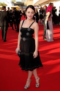 Jaime Winstone at the BAFTA Television Awards 2009.