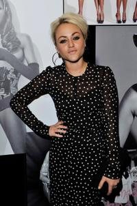 Jaime Winstone at the celebration of Naomi Campbell's 25 year career with Dolce and Gabbana.