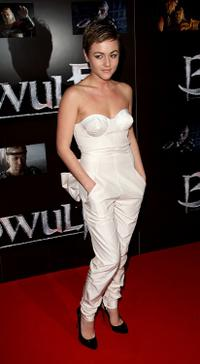 Jaime Winstone at the European premiere of