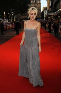 Jaime Winstone at the world premiere of