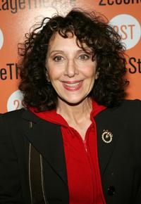 Andrea Martin at the play opening night of