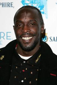 Michael K. Williams at the opening night of Inspired by Film.