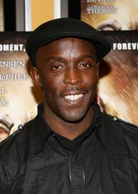 Michael K. Williams at the New York premiere of