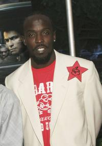 Michael K. Williams at the premiere of