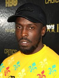 Michael K. Williams at the Men's Vogue Critics Choice celebration for