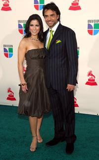 Alessandra Rosaldo and Eugenio Derbez at the 8th Annual latin GRAMMY Awards.