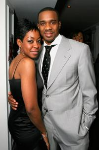 Tichina Arnold and Duane Martin at the 38th Annual Image Awards.