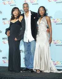 Tisha Campbell, Duane Martin and Tichina Arnold at the 2005 BET Awards.