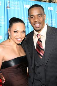 Tisha Campbell and Duane Martin at the 38th annual NAACP Image Awards.