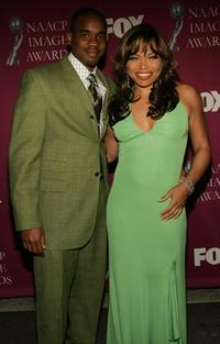 Duane Martin and Tisha Campbell Martin at the 36th NAACP Image Awards.