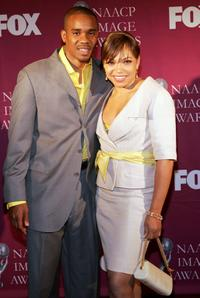 Duane Martin and Tisha Campbell Martin at the 36th Annual NAACP Image Awards.