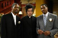 Tony Rock, James Vincent and Duane Martin at the UPNs All Of Us Special Wedding Episode.