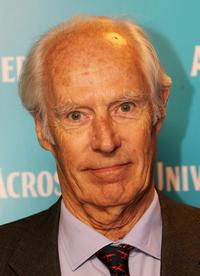 George Martin at the gala premiere of