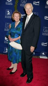 Judy Martin and George Martin at the Grammy Foundation's