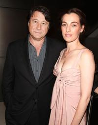 Robert Lantos and Ayelet Zurer at the premiere of