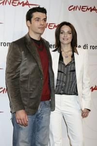Luca Argentero and Laura Chiatti at the photocall of