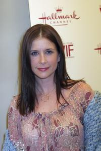 Kellie Martin at the Women In Film and Hallmark Channel Reception honoring Dr. Maya Angelou.