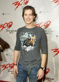 Tom Wisdom at the DVD release of