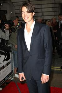 Tom Wisdom at the UK premiere of