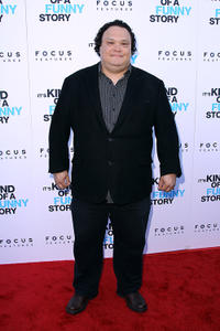 Adrian Martinez at the premiere of