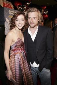 Alyson Hannigan and Adam Campbell at the screening of