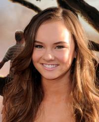 Madeline Carroll at the California premiere of