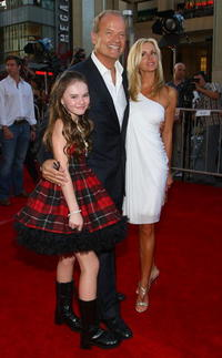 Madeline Carroll, Kelsey Grammer and Camille Grammer at the world premiere of