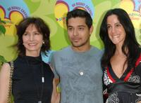 Marilyn Sadler, Wilmer Valderrama and Nika Futterman at the premiere of