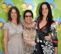 Kath Soucie, Shelley Morrison and Nika Futterman at the premiere of
