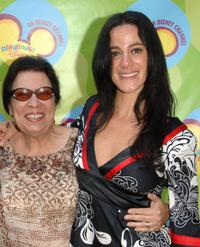 Shelley Morrison and Nika Futterman at the premiere of