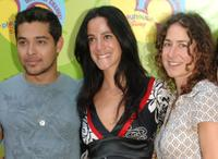 Wilmer Valderrama, Nika Futterman and Kath Soucie at the premiere of