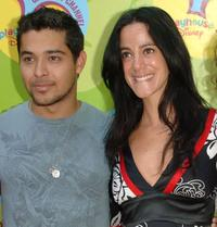 Wilmer Valderrama and Nika Futterman at the premiere of