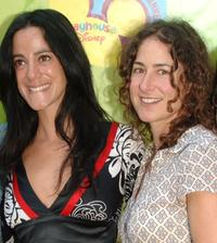 Nika Futterman and Kath Soucie at the premiere of