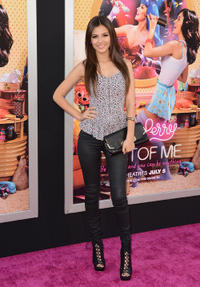 Victoria Justice at the California premiere of
