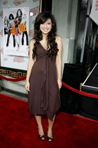 Christian Serratos at the premiere of