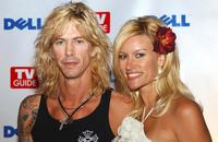 Duff McKagan and Susan Holmes at the after party of the TV Guide's Second Annual.