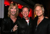 Duff McKagan, Paul Cook and Matt Sorum at the Matt Sorum and Max Noce Opening party of Sorum Noce fashion store.