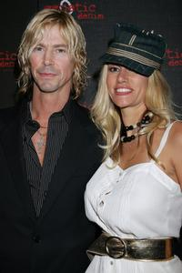 Duff McKagan and Susan Holmes at the Genetic Denim's one-year Anniversary.