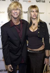 Duff McKagan and Susan Holt at the Vanity Fair