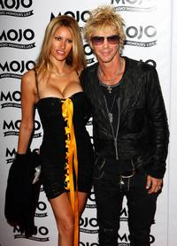 Duff McKagan and Guest at the 2009 MOJO Honours List.