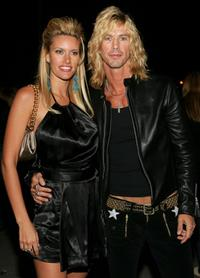 Susan Holmes and Duff McKagan at the VH1 Big in 04.