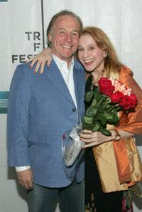 Jackie Martling and Dr. Judy at the premiere of