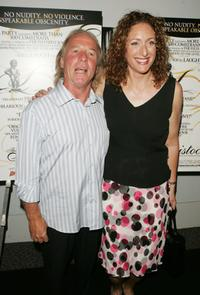 Jackie Martling and Judy Gold at the premiere of