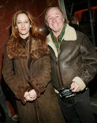 Jackie Martling and girlfriend Tania at the screening of