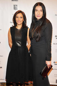 IFP executive director Joana Vicente and Marina Abramovic at the IFP's 22nd Annual Gotham Independent Film Awards.