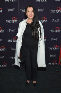 Marina Abramovic at the New York premiere of
